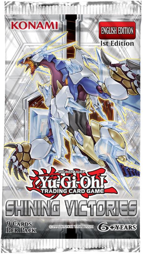 YU-GI-OH Shinning Victories Booster