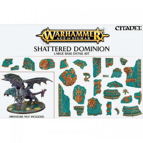 Shattered Dominion Large Base Detail cod 5011921073146