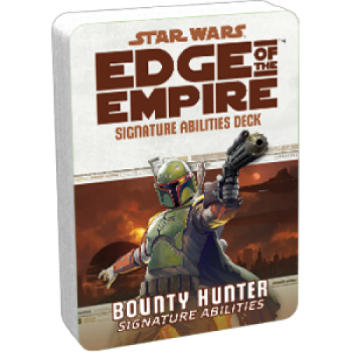 Star Wars RPG: Edge of the Empire - Bounty Hunter Signature Abilities Deck cod 841333103026