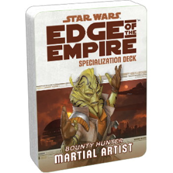 Star Wars RPG: Edge of the Empire - Martial Artist Specialization Deck