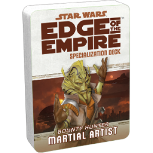 Star Wars RPG: Edge of the Empire - Martial Artist Specialization Deck cod 841333103002
