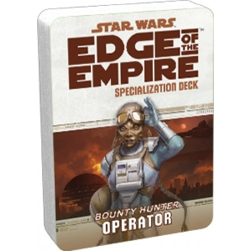Star Wars RPG: Edge of the Empire - Operator Specialization Deck cod 841333103019
