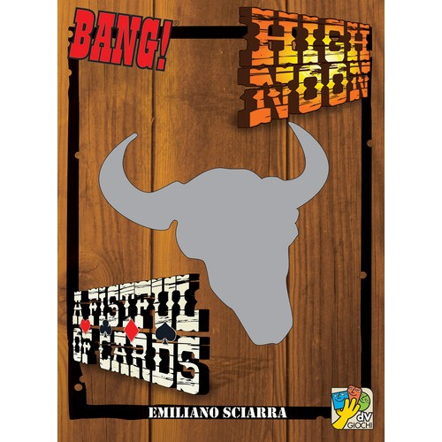 Bang! High Noon+A Fistful of Cards cod 8032611691072