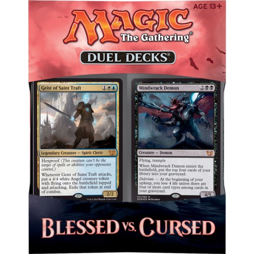 Duel Deck Box Blessed vs Cursed cod 074427863333