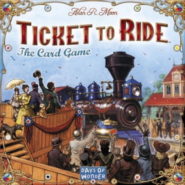 TICKET TO RIDE THE CARD GAME cod 824968217993