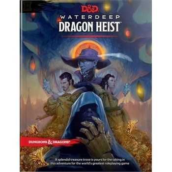D&D - Waterdeep Dragon Heist Book