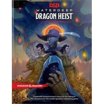 D&D - Waterdeep Dragon Heist Book