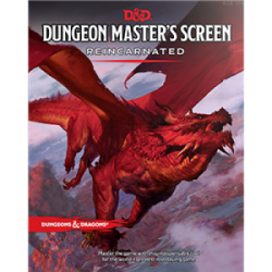 Dungeons & Dragons RPG - Dungeon Master's Screen Reincarnated