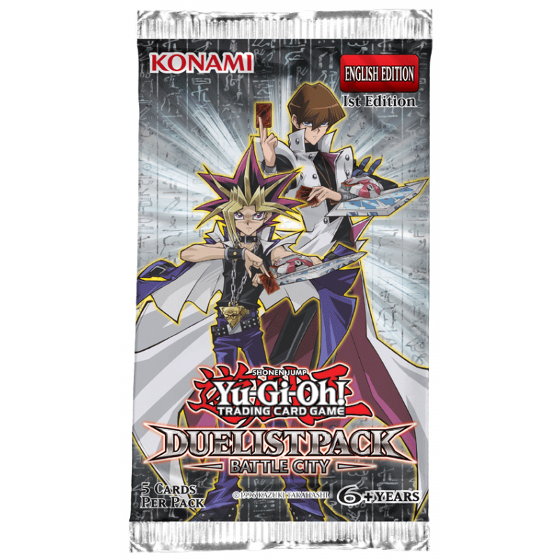 YU-GI-OH - DUELIST PACK: BATTLE CITY