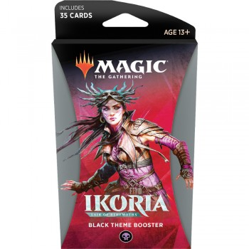 Magic The Gathering Ikoria Lair Of Behemoths Theme Booster Black