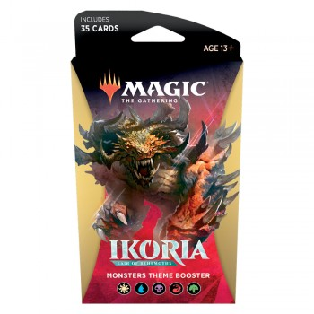 Magic The Gathering Ikoria Lair Of Behemoths Theme Booster Monsters
