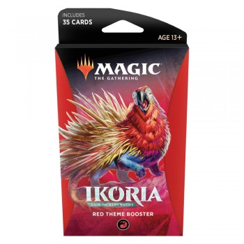 Magic The Gathering Ikoria Lair Of Behemoths Theme Booster Red