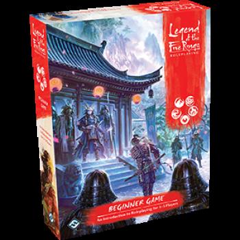 FFG- Legend of the Five Rings Roleplaying Beginner Game- EN