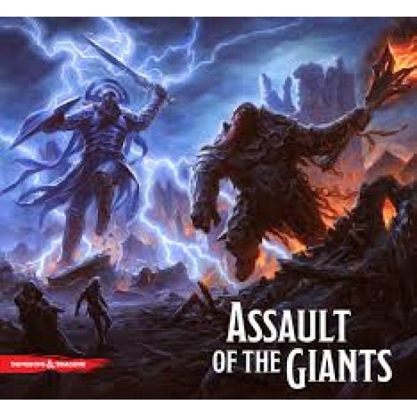D&D Assault of the Giants cod 634482721858