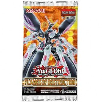 YGO - Flames of Destruction - Booster Pack