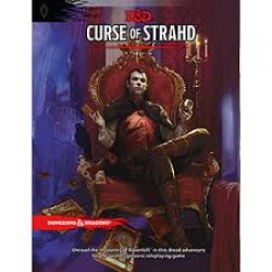 D&D Curse of Strahd the Book