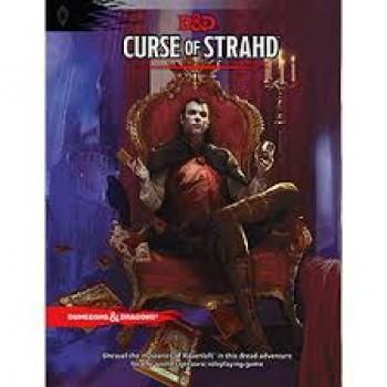 D&D Curse of Strahd the Book