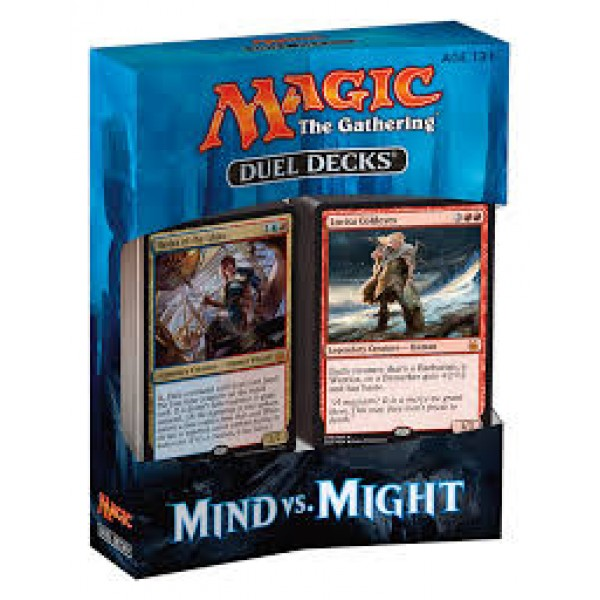 MTG Duel Decks Mind vs. Might cod 630509507832