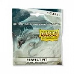 Dragon Shield Standard Perfect Fit Sideloading Sleeves - Clear