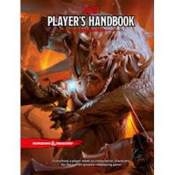 D&D RPG Players Handbook cod 9780786965601