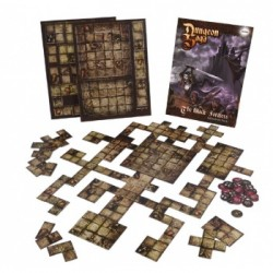 Dungeon Saga - The Black Fortress Tile Pack