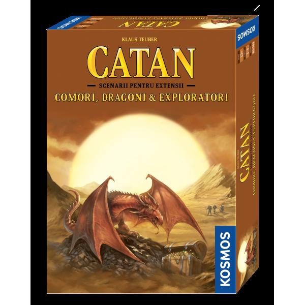 Colonistii din Catan - Comori, Dragoni si Exploratori