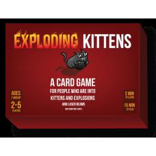 Exploding Kittens - cutie cu MIAU