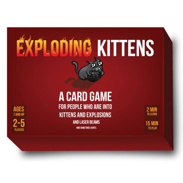Exploding Kittens - cutie cu MIAU cod 852131006006