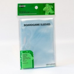 Boardgame Sleeves - Oversize (82x122mm) - 100 Pcs