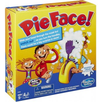 Pie Face Chain Reaction - Ruleta cu frisca