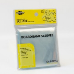 Boardgame Sleeves - Square (72x73Mmm) - 100 Pcs