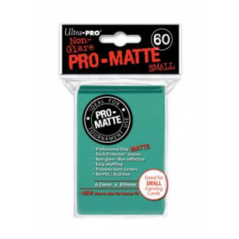 UP- Small Sleeves - Pro-Matte- Aqua(60 Sleeves)