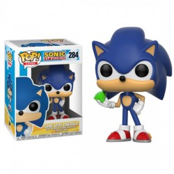 Funko POP! Games: Sonic - Sonic with Emerald Vinyl Figure 10cm