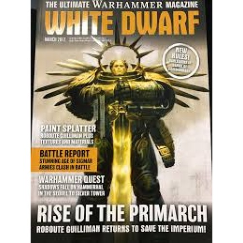 Revista White Dwarf cod 9772658712017