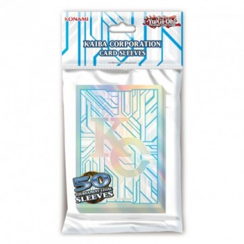 YGO - Card Sleeves - Kaiba Corporation (50 Sleeves)