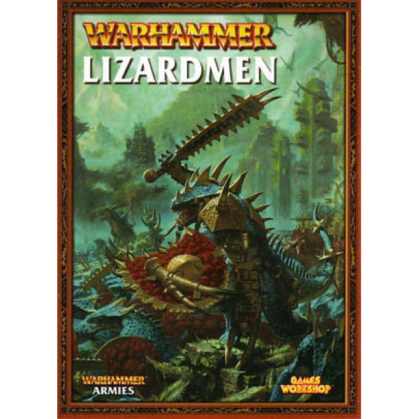 ARMY BOOK LIZARDMEN cod 9781841549187