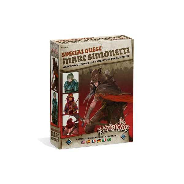 Zombicide: Black Plague Special Guest Box – Marc Simonetti - Multilingual cod 889696001917