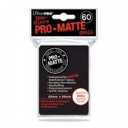 SLEEVES PRO MATTE BLACK UP 60