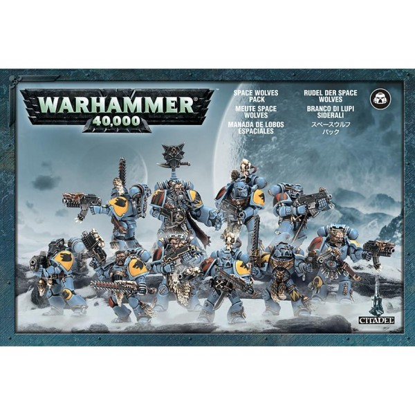 Space Wolves Pack cod 5011921016570