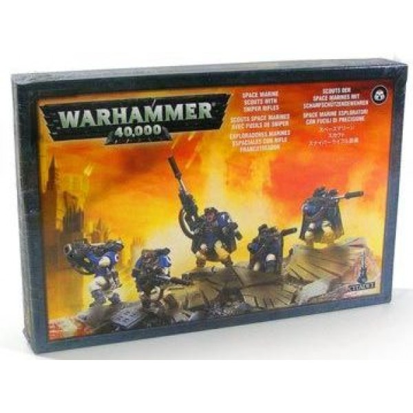 SPACE MARINE SCOUTS WITH SNIPER RIFLES cod 5011921913176