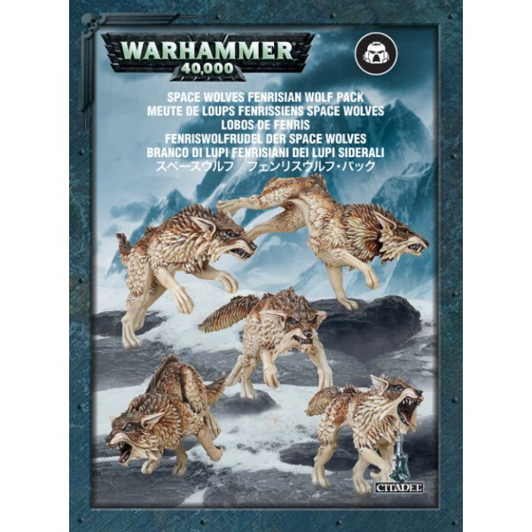 SPACE WOLVES FENRISIAN WOLF PACK cod 5011921030040