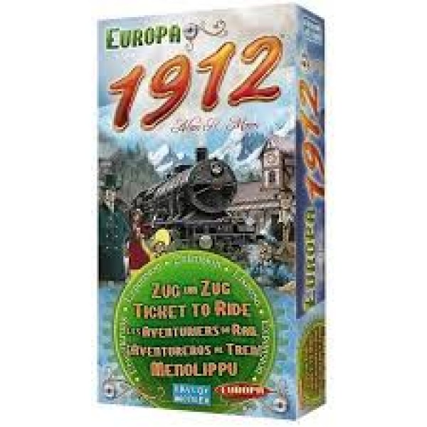 Ticket to Ride - Europe 1912 Expansion - MULTI