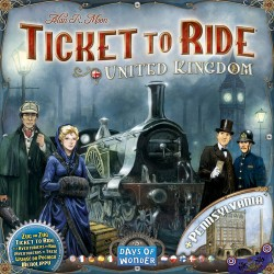 TICKET TO RIDE MAP COLLECTION 5 UK PENNSYLVANIA
