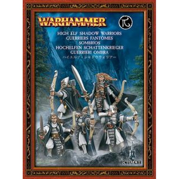 HIGH ELF SHADOW WARRIORS (7ED) cod 5011921903474
