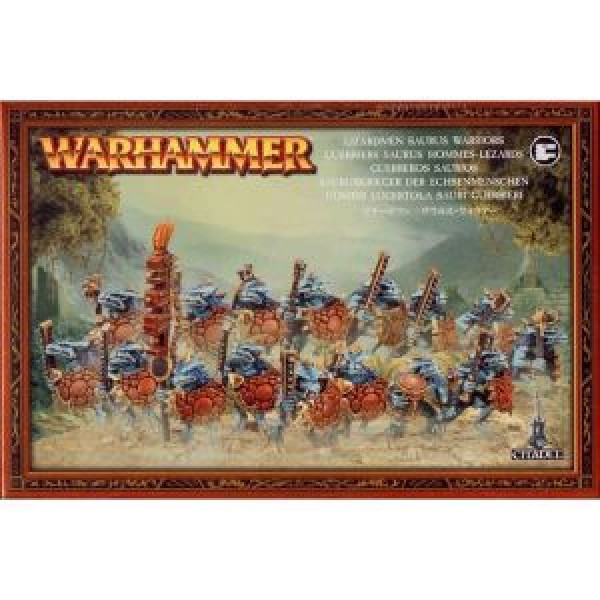 LIZARDMEN SAURUS WARRIORS cod 5011921938162