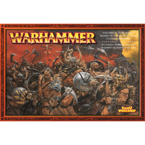 MARAUDERS OF CHAOS REGIMENT cod 5011921948970