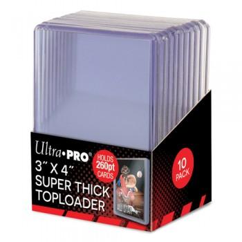 """UP - 3"""" x 4"""" Super Thick 260pt Toploader"""
