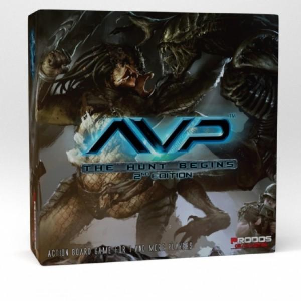 Alien vs Predator: The Hunt Begins 2nd Edition - EN cod 5060387163441