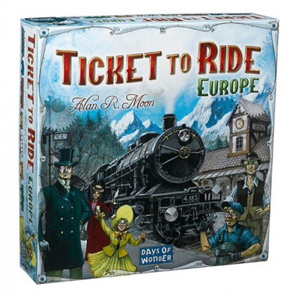TICKET TO RIDE - EUROPE cod 824968717929