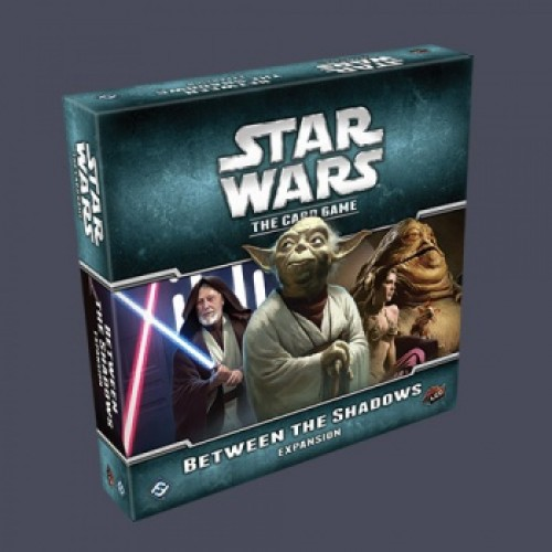 STAR WARS LCG: BETWEEN THE SHADOWS EXPANSION cod 9781616619268